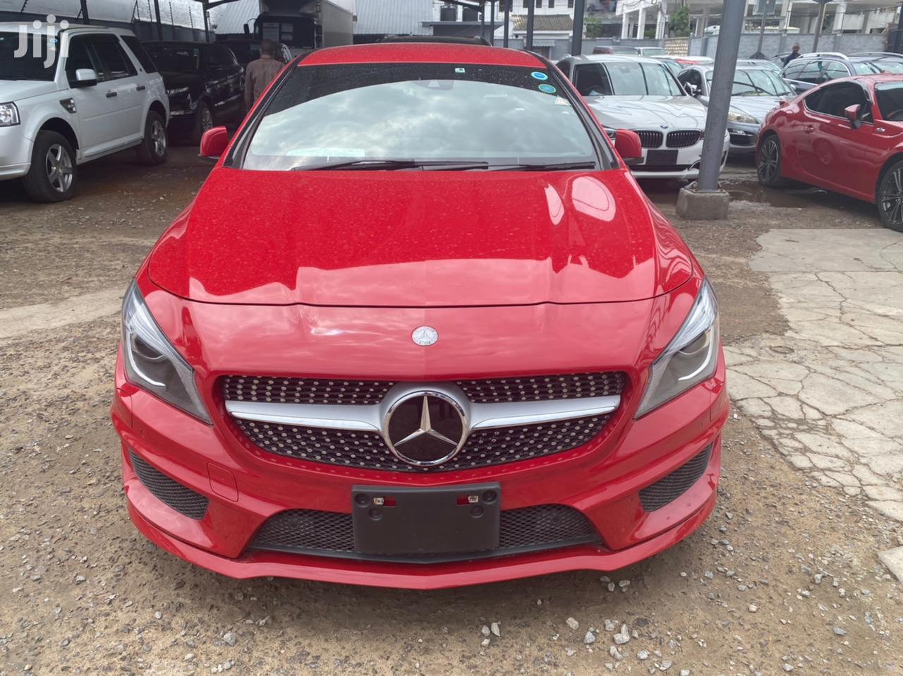 Mercedes-Benz CLA-Class 2014 Red