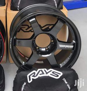 Black Hilux Sports Rims Size 18set   Vehicle Parts & Accessories for sale in Nairobi, Nairobi Central