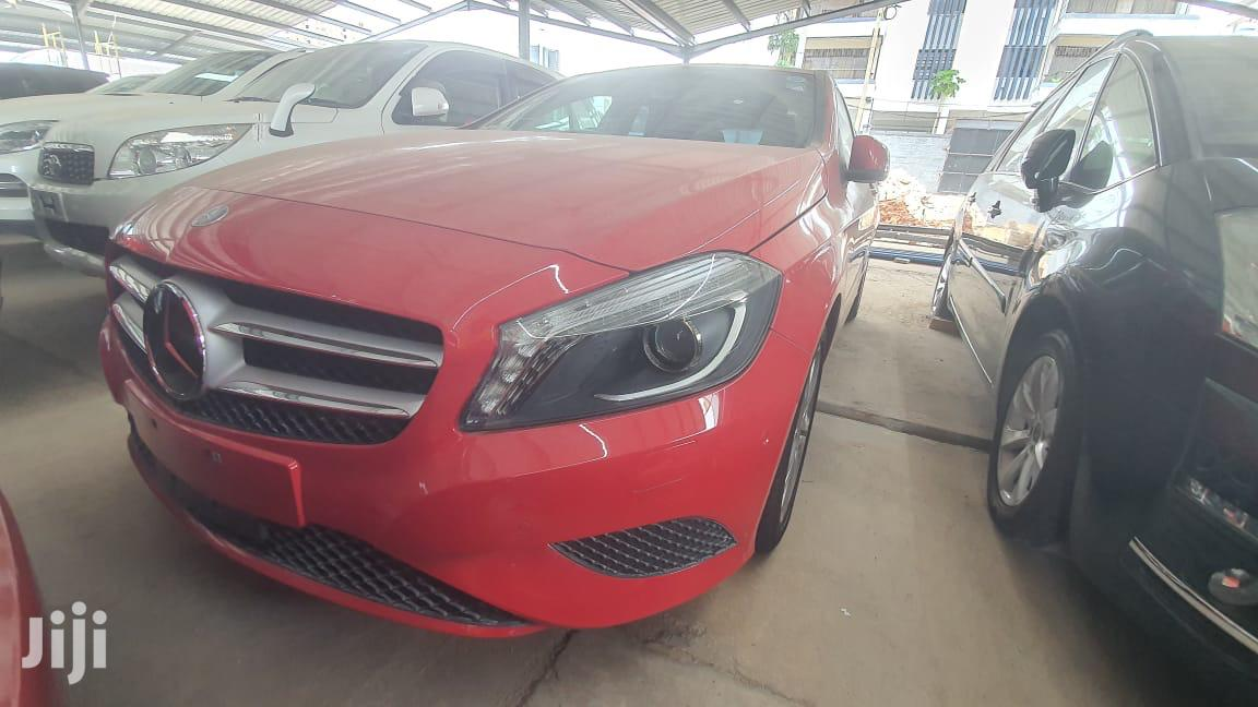 Archive: Mercedes-Benz A-Class 2013 Red