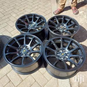 Subaru Black Sport Rim 17 Inch Set | Vehicle Parts & Accessories for sale in Nairobi, Nairobi Central