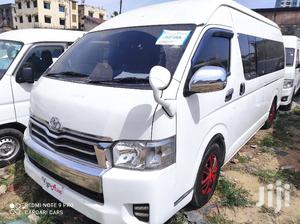 Toyota Hiace 9L Commuter Manual Diesel 2014 White For Sale   Buses & Microbuses for sale in Mombasa, Tudor