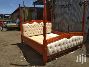 Modern 6*6 Mahogany Bed   Furniture for sale in Nairobi, Kahawa