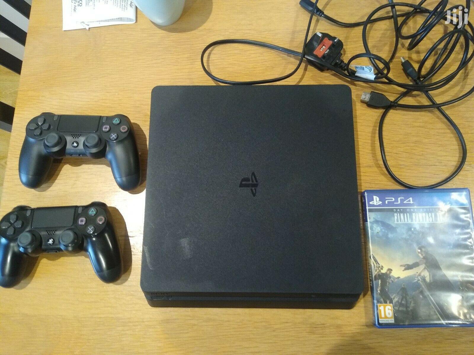 Archive: Sony Playstation 4 Slim 500GB Console - Matte Black