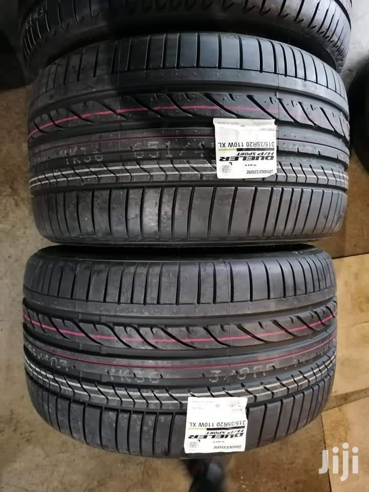 315/35 R 20 Bridgestone Tyre Made in Japan