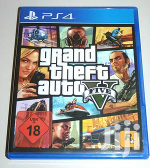 Grand Theft Auto v (Playstation 4) Ps4 GTA 5 Used   Video Games for sale in Nairobi, Nairobi Central
