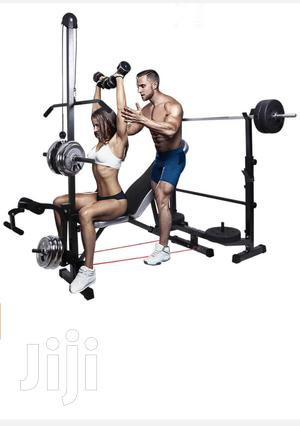 Weight Bench Fitness Exercise Lift Chest Gym Indoor Abs | Sports Equipment for sale in Nairobi, Westlands