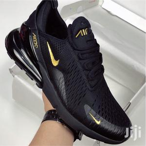 Black/Gold Airmax 270 Nike Sneakers Men and Women Shoes   Shoes for sale in Nairobi, Nairobi Central
