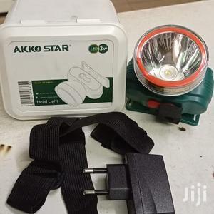 Akko Star Headlamp, Inbuilt Battery + Charger Headstrap   Camping Gear for sale in Nairobi, Karen