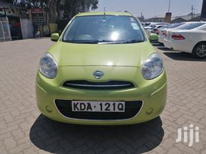 Nissan March 2013 Green   Cars for sale in Nairobi, Kilimani