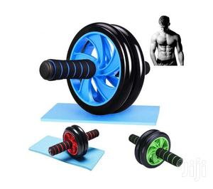 AB Wheel Double Wheel Fitness Abs Roller With FREE Mat | Sports Equipment for sale in Nairobi, Nairobi Central