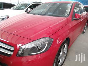 Mercedes-Benz A-Class 2014 Red | Cars for sale in Mombasa, Ganjoni