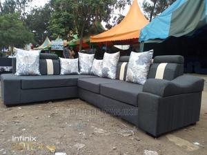 Modern L Sofa | Furniture for sale in Nairobi, Kahawa