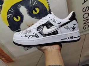 Graffiti Nike AIR FORCE 1'07 Low-Top Casual Sneakers Shoes | Shoes for sale in Nairobi, Nairobi Central