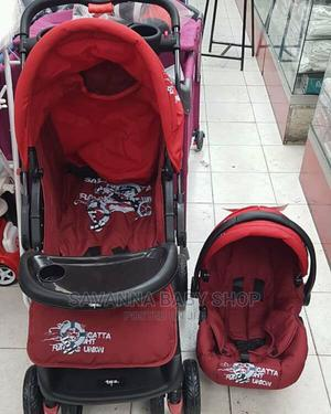 Baby Stroller With Carry Cot Had Reversible Handles   Prams & Strollers for sale in Nairobi, Eastleigh