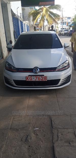 Volkswagen Golf GTI 2013 White   Cars for sale in Mvita, Majengo