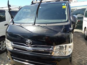 Black Hiace Diesel With Carrier | Buses & Microbuses for sale in Mombasa, Ganjoni