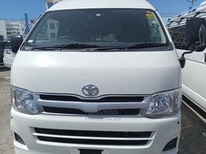 Hiace Highroof White in Colour 2014 White For Sale | Buses & Microbuses for sale in Mombasa, Ganjoni