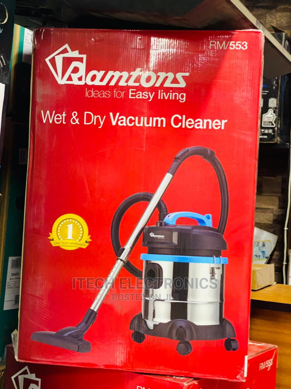 Archive: Ramtons Wet Dry Vacuum Cleaner