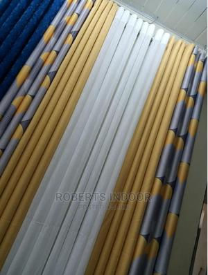Elegant Blue and Yellow Decorative Curtains | Home Accessories for sale in Nairobi, Nairobi Central