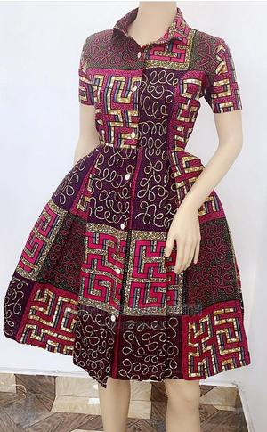 Ankara Skater Dress | Clothing for sale in Nairobi, Nairobi Central