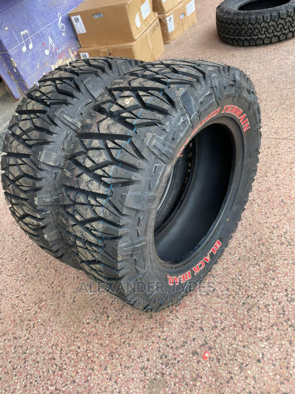 265/75 R16 Black Bear Tyre Nylon