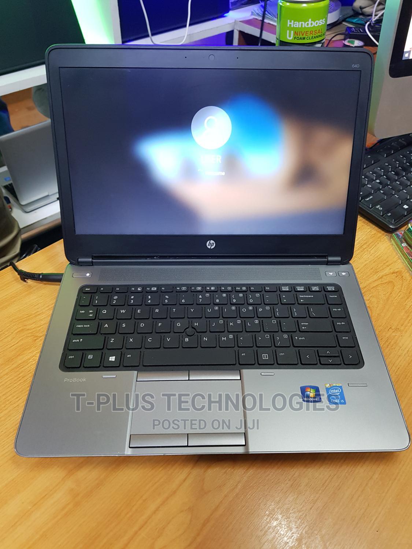 Archive: Laptop HP ProBook 640 G1 4GB Intel Core I5 HDD 500GB