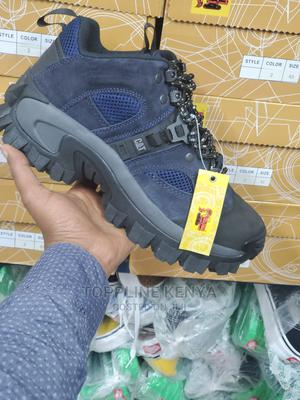 Navy Blue Premium Quality Caterpillar Boots   Shoes for sale in Nairobi, Nairobi Central