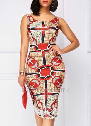 Ankara Straight Dress | Clothing for sale in Nairobi, Nairobi Central