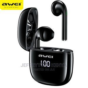 AWEI T28P BT5.0 Headset TWS Wireless Earphones Earbuds Stere | Headphones for sale in Nairobi, Nairobi Central