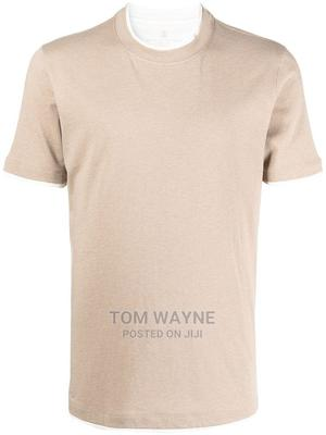 Beige Plain T-shirts For Printing And Branding   Clothing for sale in Nairobi, Nairobi Central
