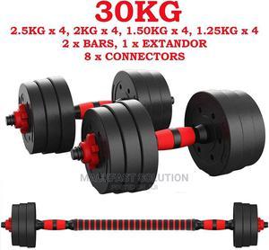 30kg Adjustable Dumbbells   Sports Equipment for sale in Nairobi, Nairobi Central