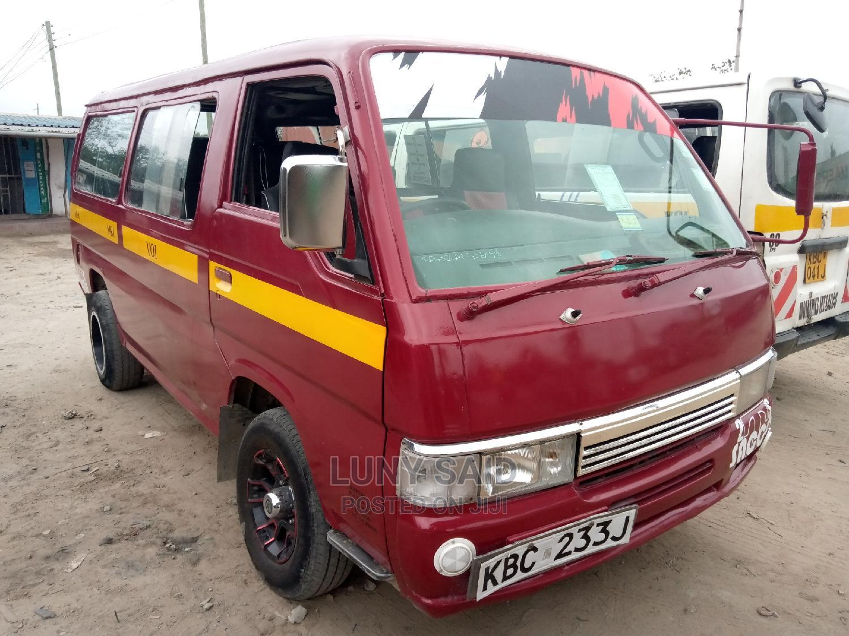 Nissan Matatu 2002 Red