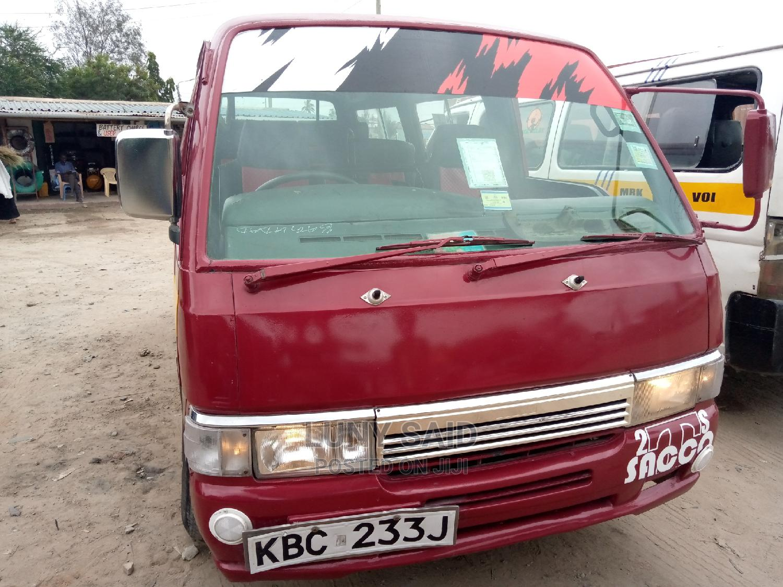 Nissan Matatu 2002 Red   Buses & Microbuses for sale in Industrial Area (Msa), Mombasa, Kenya