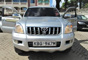 Toyota Land Cruiser Prado 2003 Silver | Cars for sale in Mombasa, Tudor