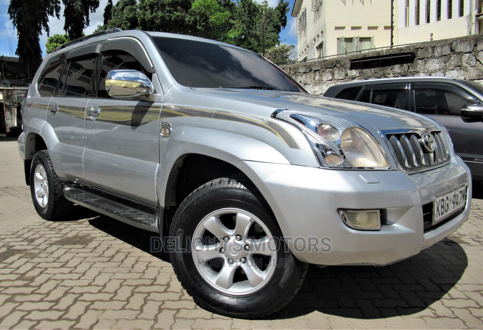 Toyota Land Cruiser Prado 2003 Silver   Cars for sale in Tudor, Mombasa, Kenya