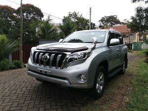 Toyota Land Cruiser Prado 2015 Silver   Cars for sale in Nairobi, Runda