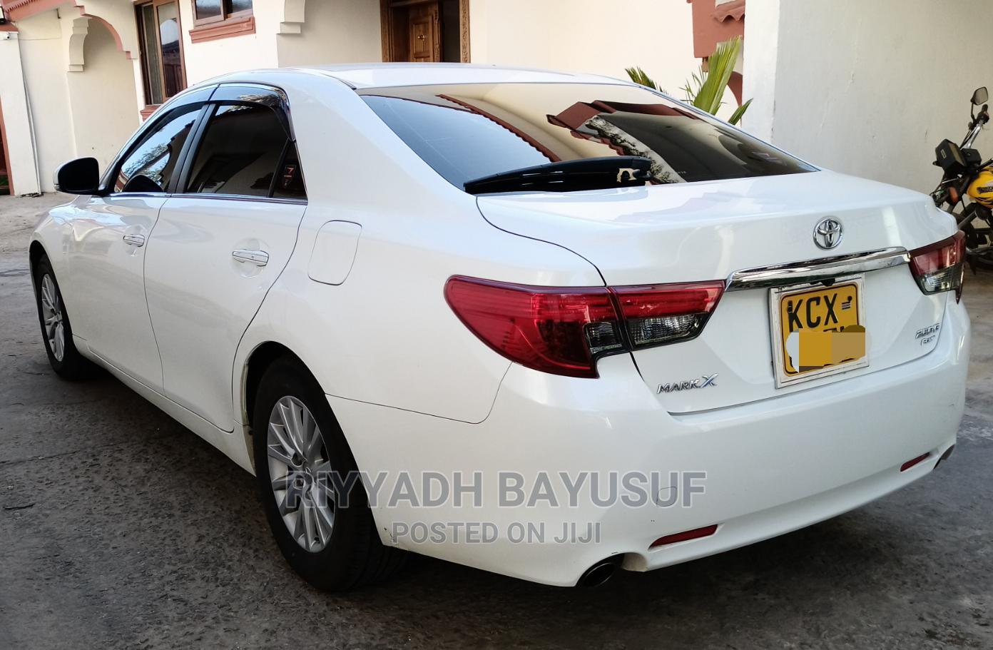 Toyota Mark X 2014 White | Cars for sale in Tudor, Mombasa, Kenya