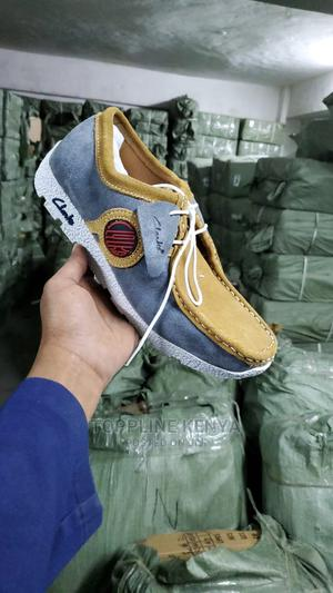 Grey-Brown -White Men Casual Clarks Garantie Acheter Clarks | Shoes for sale in Nairobi, Nairobi Central