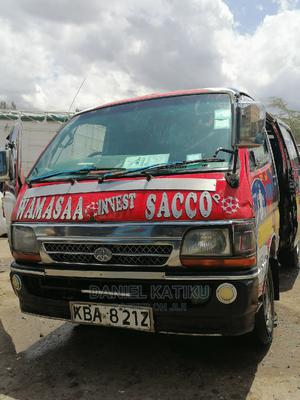 Toyota Hiace 5l 2002 Red | Buses & Microbuses for sale in Nairobi, Nairobi Central