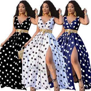 Polka Dotted Maxi Dress | Clothing for sale in Nairobi, Nairobi Central