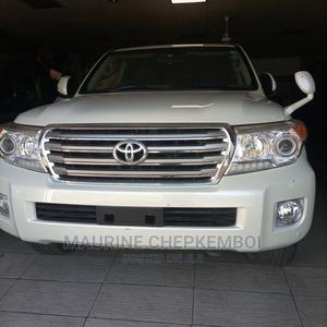 Toyota Land Cruiser 2013 4.6 V8 AX White | Cars for sale in Mombasa, Mombasa CBD