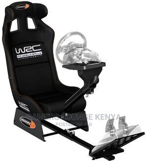 Gaming Seat Complete With Steering and Pedals | Video Game Consoles for sale in Nairobi, Nairobi Central