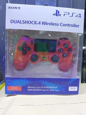 Red Ps4 Wireless Controller | Video Game Consoles for sale in Nairobi, Nairobi Central