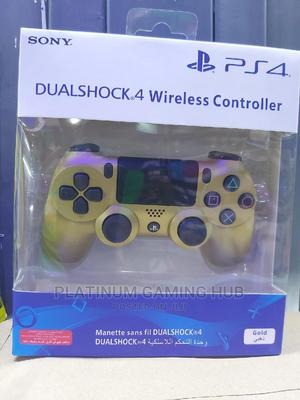 Gold Dual Shock Wireless Ps4 Controller | Video Game Consoles for sale in Nairobi, Nairobi Central