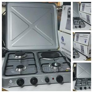 Nunix 3 Gas + 1 Electric Hot Plate Table Top Cooker Burner S   Kitchen Appliances for sale in Nairobi, Nairobi Central