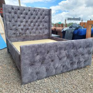 Chester Bed 5 by 6   Furniture for sale in Nairobi, Kahawa