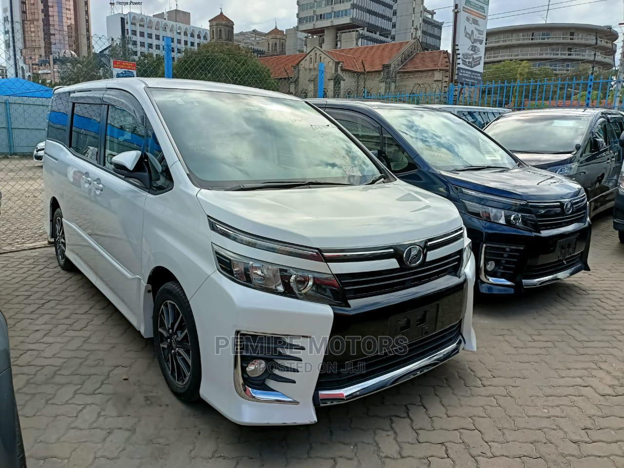 Toyota Voxy 2015 White | Cars for sale in Mombasa CBD, Mombasa, Kenya