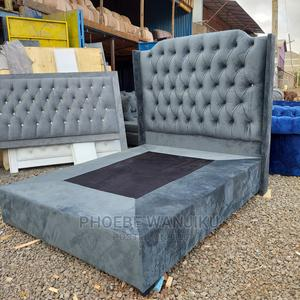 5 by 6 Chester Bed( Box Bed)   Furniture for sale in Nairobi, Kahawa