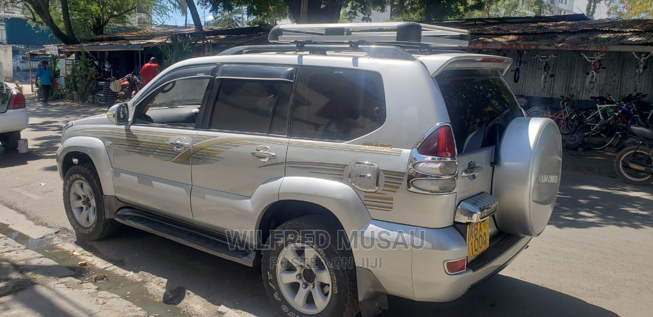 Toyota Land Cruiser Prado 2007 Silver | Cars for sale in Changamwe, Mombasa, Kenya