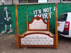 5 by 6 Modern Bed With Stands | Furniture for sale in Nairobi, Kahawa